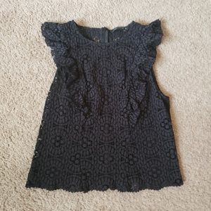 Crochet/Lace detailed top